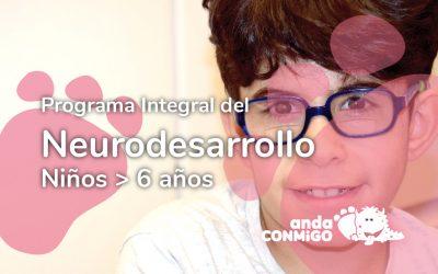 Programa Integral del Neurodesarrollo. Niños > 6 años