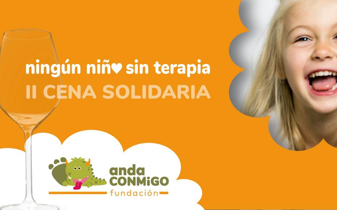II Cena Solidaria Fundación anda CONMiGO